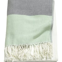 H&M Color-block Throw $49.99