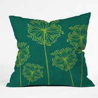 Caroline Okun Hemlock Throw Pillow