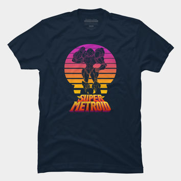 Super Sunset T Shirt By Nintendo Design By Humans