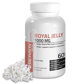 [Pack of 2] Bronson Royal Jelly 1000 mg, 60 Capsules Each
