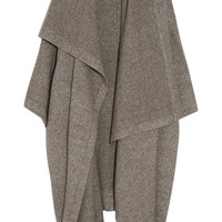 Stella McCartney - Draped knitted blanket coat