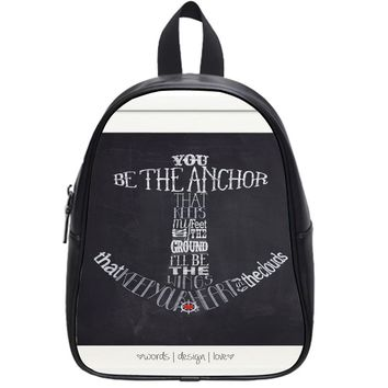 Anchor Typograph One School Backpack Large