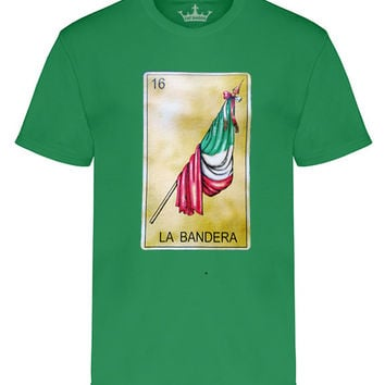 "Men's Soft Ringspun Cotton ""La Bandera"" Tee"