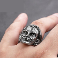 Batman The Joker face ring