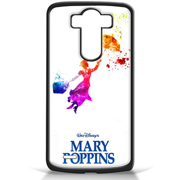 Mary Poppins in Watercolor Art for LG G3 Case