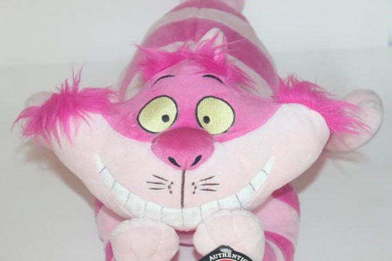 Alice In Wonderland Cheshire Cat Stuffed Animal