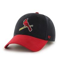 '47 Brand St. Louis Cardinals Short Stack Adjustable Cap - Youth, Size: One Size (Team)