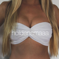 Spandex Bandeau -- Solid White