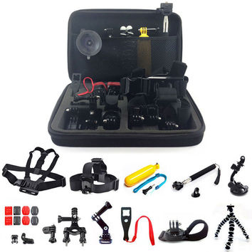Go Pro 2 3 4 Accessory Kit - 26 N 1 Head Chest Mount Floating Monopod Accessories