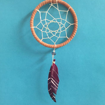 Serendipity Part Two ~ Small Dreamcatcher Wall Hanging Perfect for Car Mirrors, Lockers, Dorm Rooms, etc