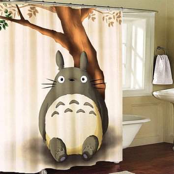 Totoro-Neighbor Shower Curtain