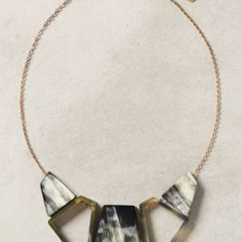 Altitude Necklace by Anthropologie Brown Motif One Size Necklaces
