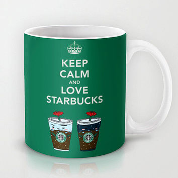Personalized mug cup designed PinkMugNY- Love Starbucks