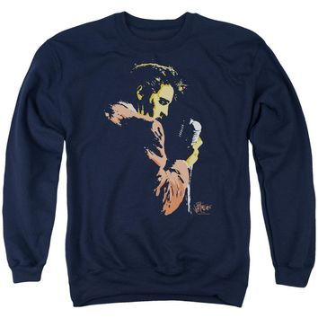 Elvis - Early Elvis Adult Crewneck Sweatshirt