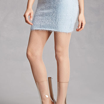 Fuzzy Knit Mini Skirt