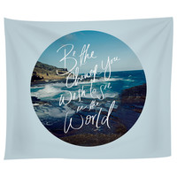 Be the Change Tapestry