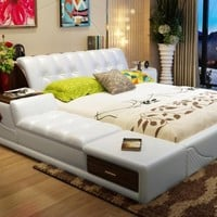 Soft Beds With Storage Home Bedroom Furniture