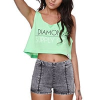 Diamond Supply Co Cropped Tank at PacSun.com