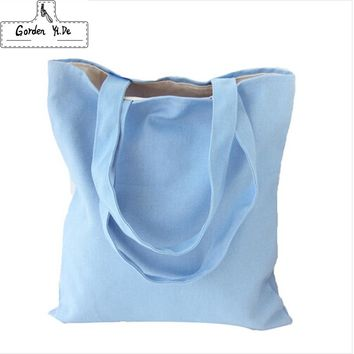 2017 Eco Reusable Shopping Bags Cloth Fabric Grocery Packing Recyclable Bag Hight Simple Design Healthy Tote Handbag Fashion