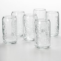 Luminarc Coca-Cola 6-pc. Can Glass Set