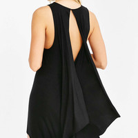Silence + Noise Superpower Drape-Back Dress - Urban Outfitters