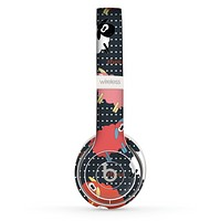 The Colorful Sheep Polka Dot Pattern Skin Set for the Beats by Dre Solo 2 Wireless Headphones
