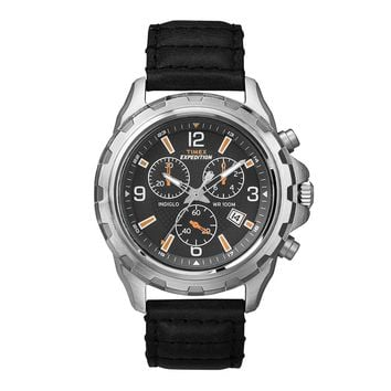 Genuine Timex Expedition Rugged T49985 Gents Watch Chronograph