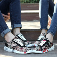 Sexymaking plus size 36-44 Unisex Sport Sneakers Shoes Couple Shoes Men Women Sneakers Fashion Spring autumn Casual New female shoe
