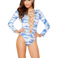 Rave Rompers With Front Lace Up | Rave Clothing