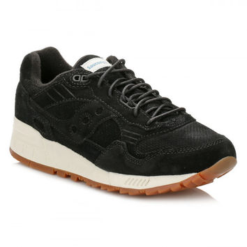Saucony Mens Black Shadow 5000 Trainers