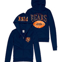 Chicago Bears Zip Hoodie - PINK - Victoria's Secret