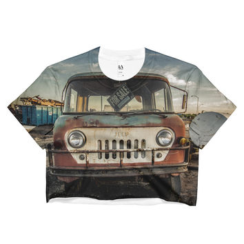 Jeep Thing Ladies Crop Top