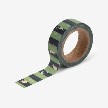 Deco 0.59X11yd single masking tape - Hide and seek