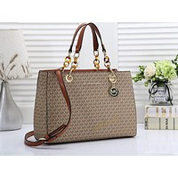 MK Hot Selling Fashion Women's All-Printed Single Shoulder Bag Shopping Bag