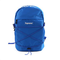 "Blue ""Supreme"" Backpack"