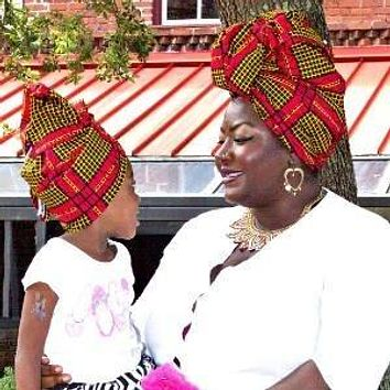 Imani Mommy And Me African HeadWrap