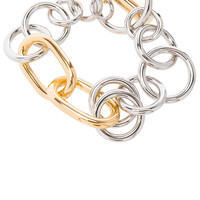 Alexander Wang Toggle Bracelet in Silver & Gold | FWRD