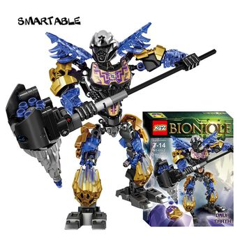 Smartable BIONICLE 143pcs Light Onua Earth figures 611-2 Building Block toys Compatible legoing BIONICLE Gift