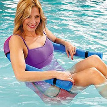 Summer Noodle Pool Floating Chair Swimming Seats Bed