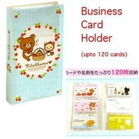 San-X Rilakkuma Strawberries Business Card Holder Folder