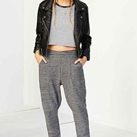 ALTERNATIVE Eco-Jaspe Slouchy Sweatpant- Dark Grey