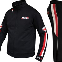 RDX MMA Full Fleece Tracksuit with Hoodie & Trouser