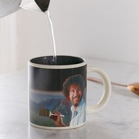 Bob Ross Heat-Changing Mug | Urban Outfitters