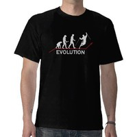 Skiing Evolution t-shirt from Zazzle.com
