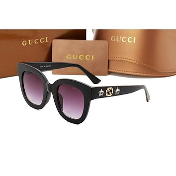 Gucci sunglass AA Classic Aviator Sunglasses, Polarized, 100% UV protection 2974244971 GG0208