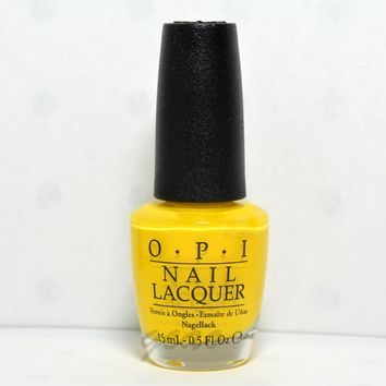 OPI Nail Polish Lacquer Exotic birds do not tweet NLF91