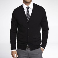 MILITARY POCKET CARDIGAN