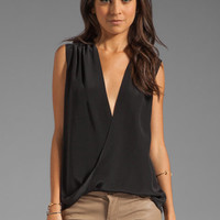 Jay Godfrey Aldridge Blouse in Black from REVOLVEclothing.com