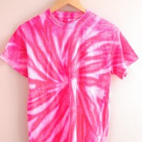NEON COLLECTION: Rose Tie-Dye Unisex Tee