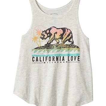 Billabong Kids Cali Bear Love Tank Top (Little Kids/Big Kids)